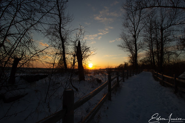 Winter sunset #1