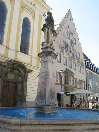 At the start of a Saturday bike excursion, I visited the town of Kaufbeuren | Kaufbeuren, Deutschland
