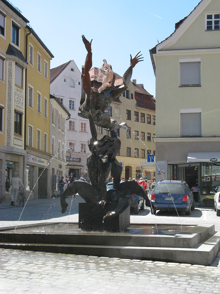 At the start of a Saturday bike excursion, I visited the town of Kaufbeuren | Kaufbeuren, Deutschland