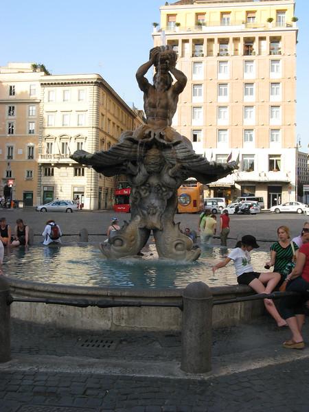 Fontana Tritone, Piazza Barberini | Rome, Italy