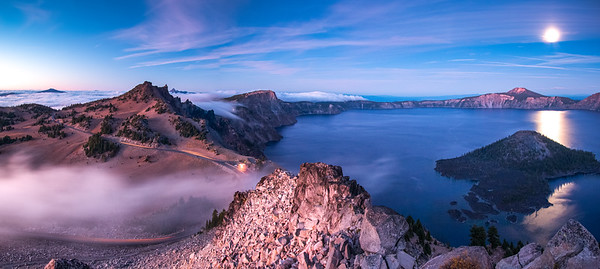 The Watchman, Crater Lake National Park, OR