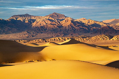 Mesquite Flat Sand Dunes, Death Valley National Park, CA