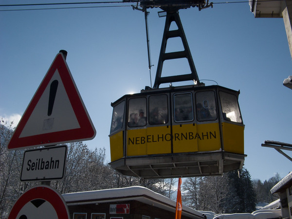 The gondola--looks safe to me... | Oberstdorf, Bayern Germany