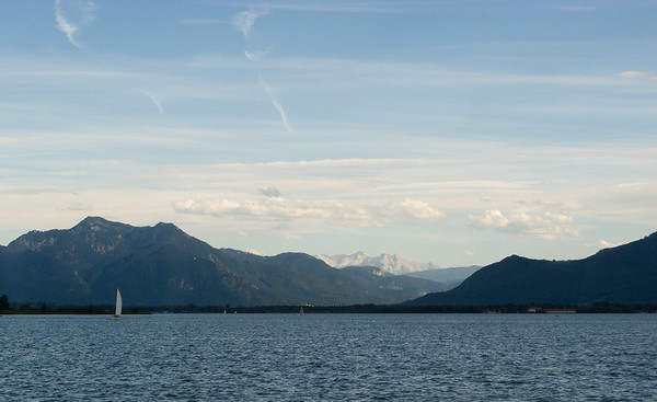 Chiemsee and the alps | ,  , Deutschland