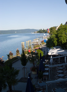 The view from our hotel window | Überlingen, Germany
