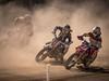 Dusty racing.