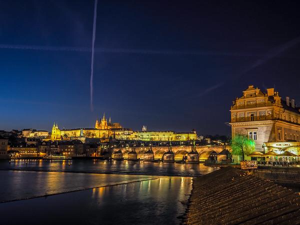 Evening Prague
