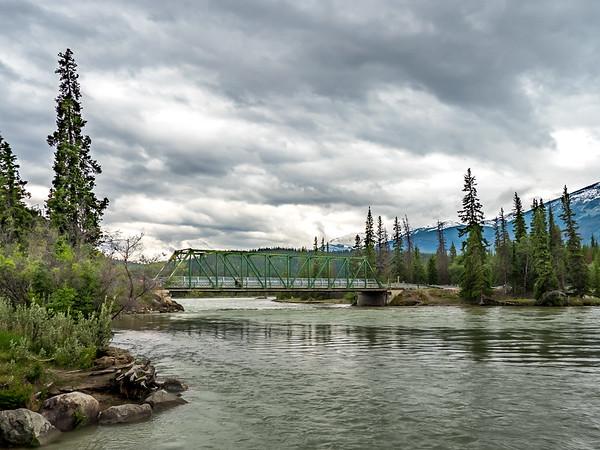 Bridge accross the Athabasca