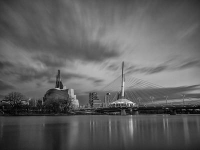 Winnipeg Blue Hour