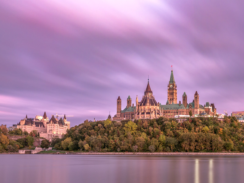 Parliament Sunset - long exposure.