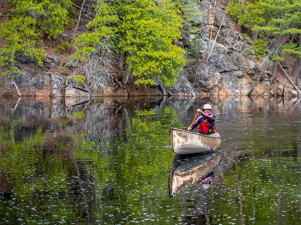 Algonquin canoeing