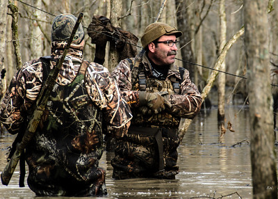 HD Duck Hunting trip with Pete and BG.