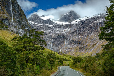 Homer Tunnel, Milford Sound, NZ