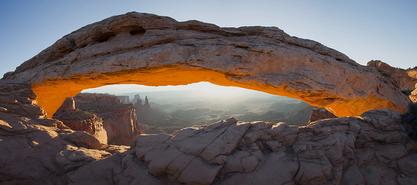 Mesa Arch, Islands in the Sky, Canyonlands National Park, UT