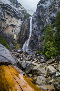 Lower Yoesmite Falls, Yosemite NP, CA
