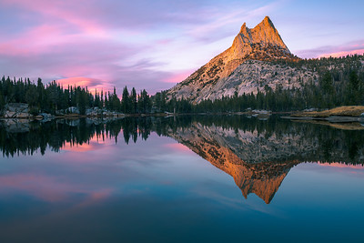 Upper Cathedral Lake, Yosemite NP, CA