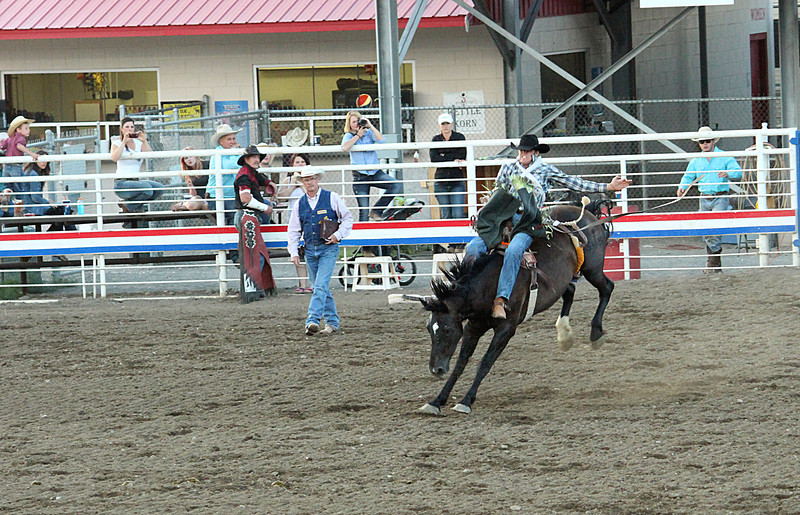 A night at the rodeo. Cody, Wyoming.