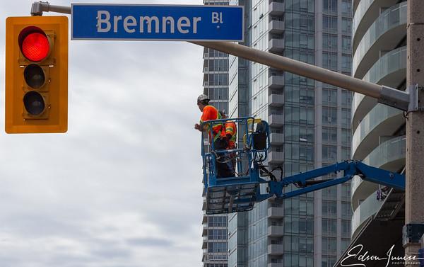 Corner of York & Bremner