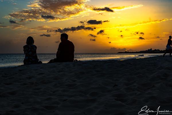 Sundown at Carlisle Bay Barbados-5
