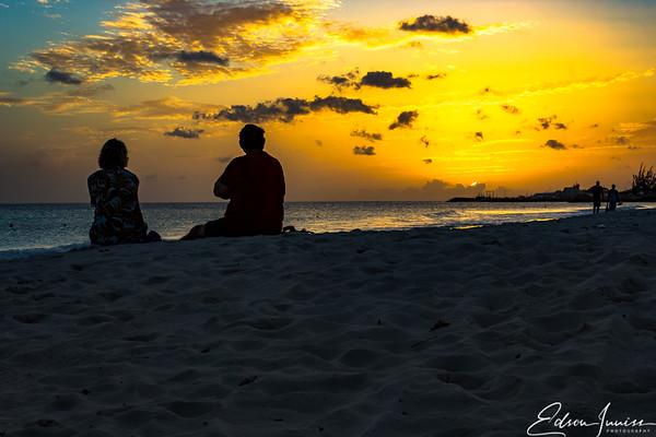 Sundown at Carlisle Bay Barbados-4