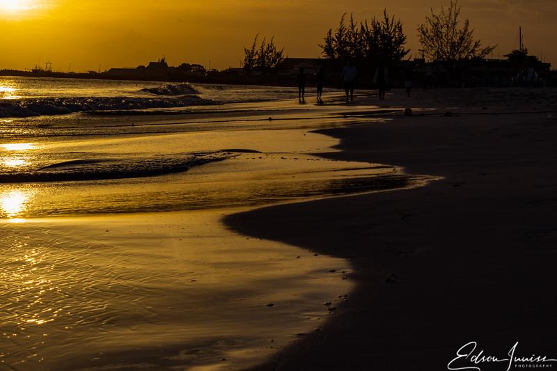 Barbados Sunset along Carlisle Bay 2018