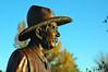 Old Timer in Bronze - Benson Sculpture Garden