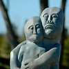 A loving couple - Chapungu Sculpture Park - Loveland, CO