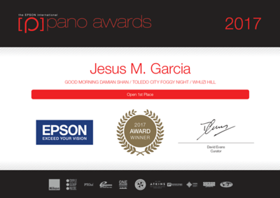 Epson Pano Awards 2017 Winner Jesus M Garcia