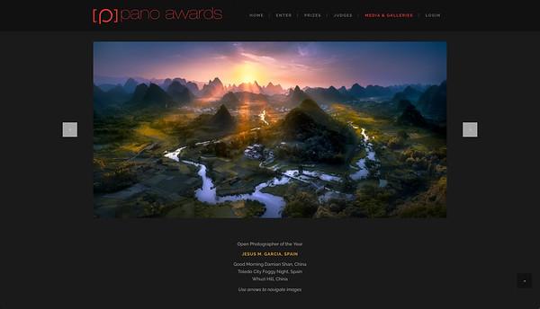 The Epson International Pano Awards. 2017 Photographer of the Year. Jesus M. Garcia Flores