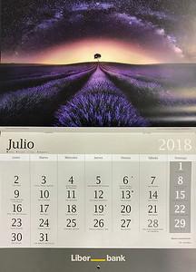 LiberBank Calendario Fotográfico Jesús M. García Flores