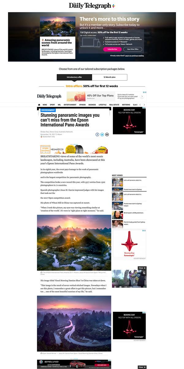 Daily Telegraph - Jesús M. García Flores