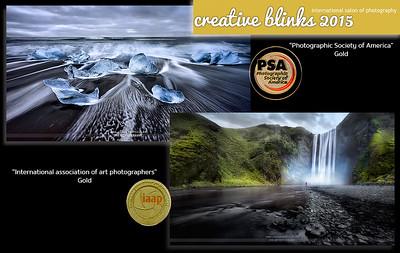 Creative Blinks PSA Gold Medal + Iaap Gold Medal 2015