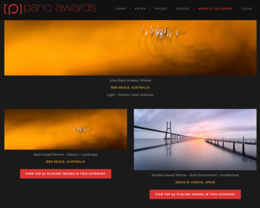 The Epson International Pano Awards Winner 2014