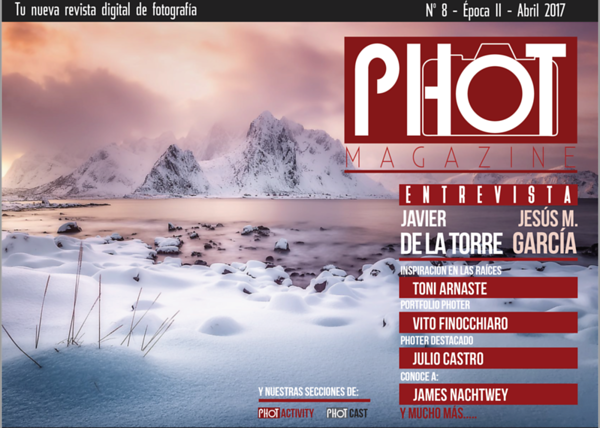 Phot Magazine N8 - Entrevista 2017
