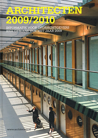 Cover architectenjaarboek 2009-2010