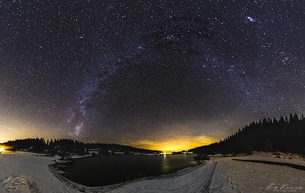 voie lactée lac de lamoura (31 sur 113)