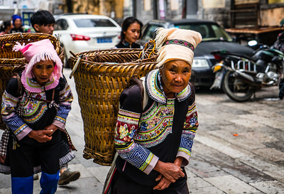 Yi au marché de Xinjie