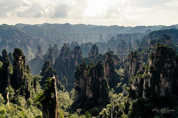 zhangjiajie forest national park