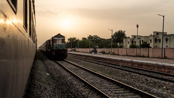 En route pour Jaipur