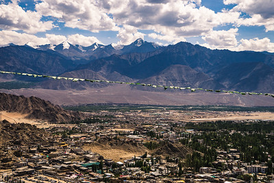 Leh city and Stok Kangri