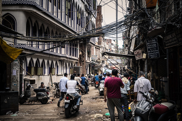 Mosquée dans les rues de Dehli