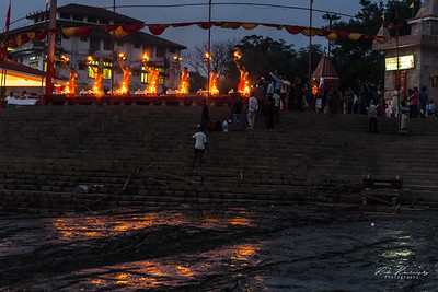 Puja ceremony in Assi ghat