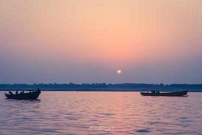 Sunrise in Varanasi