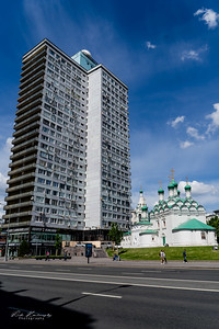 le contraste Moscovite