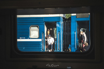 A l'interieur du transsibérien