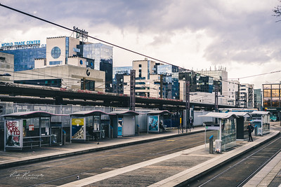 Europole et la gare de Grenoble