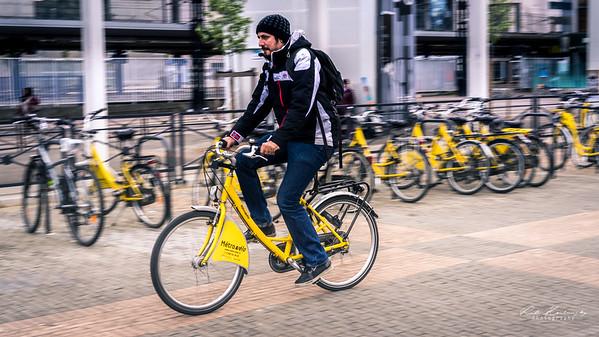 Où est mon vélo jaune ?