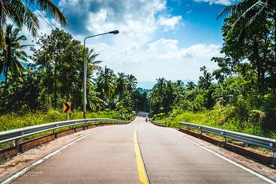 Ko phangan road