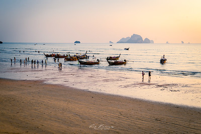 Tourist return Ao nang