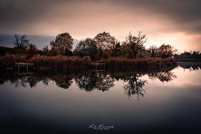Un matin au lac de Saint André